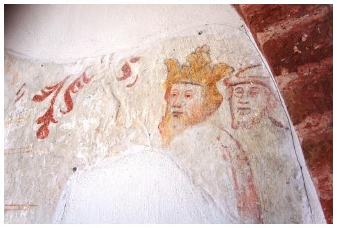 Muurschildering leermens